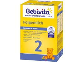Bebivita Milchnahrung 2 Folgemilch 500g