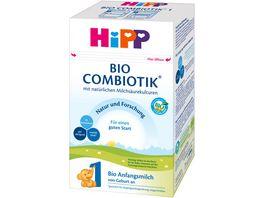HiPP Milchnahrung Combiotik 600g HIPP 1 BIO Combiotik von Geburt an