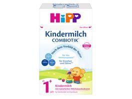 HiPP Milchnahrung Combiotik 600g Kindermilch mit natuerlichen Milchsaeurekulturen ab 1 Jahre