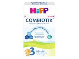 HiPP Bio Milchnahrung 3 BIO Combiotik 600g