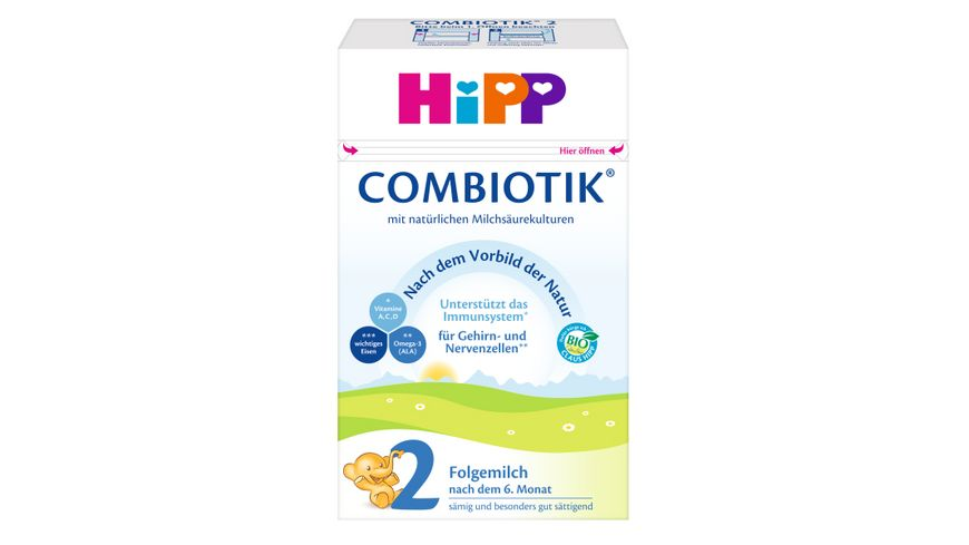 HiPP Bio Milchnahrung 2 BIO Combiotik®, 600g