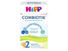HiPP Bio Milchnahrung 2 BIO Combiotik 600g