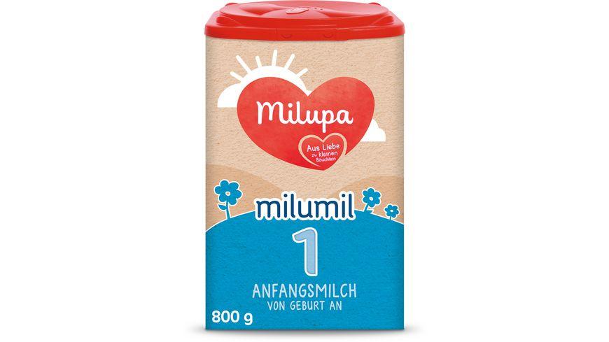 Milupa Milumil 1 Anfangsmilch von Geburt an