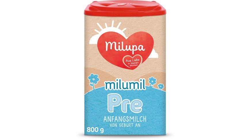 Milupa Milumil Pre Anfangsmilch von Geburt an