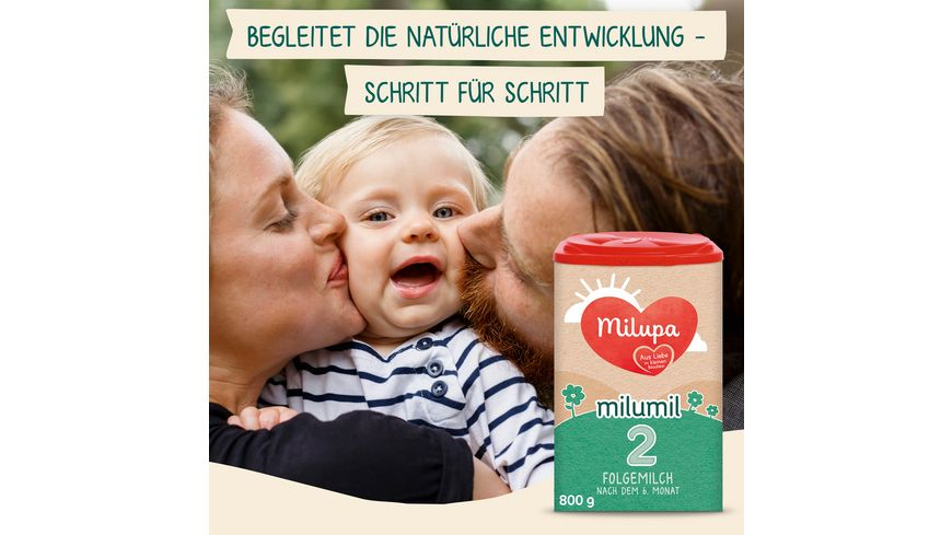 Milupa Folgemilch Milumil 2