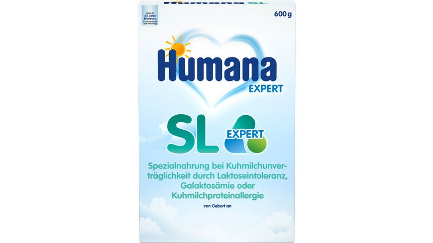 Humana Spezialnahrung bei Kuhmilchunverträglichkeit