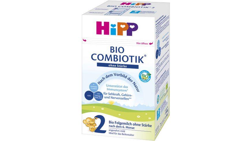 HiPP Milchnahrung 2 BIO Combiotik ohne Staerke