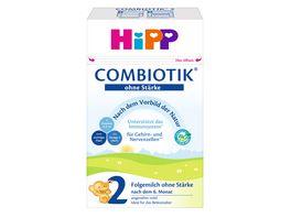 HiPP Bio Milchnahrung 2 BIO Combiotik ohne Staerke 600g
