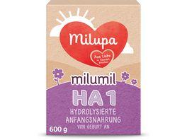 Milupa Milumil HA 1 Anfangsnahrung von Geburt an