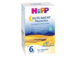 HiPP Milchnahrung Gute Nacht Flaeschchen Bio