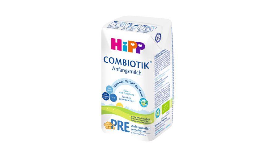 HiPP Milchnahrung PRE BIO Combiotik trinkfertig