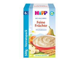 HiPP Bio Milchbreie Feine Fruechte Vorratspackung