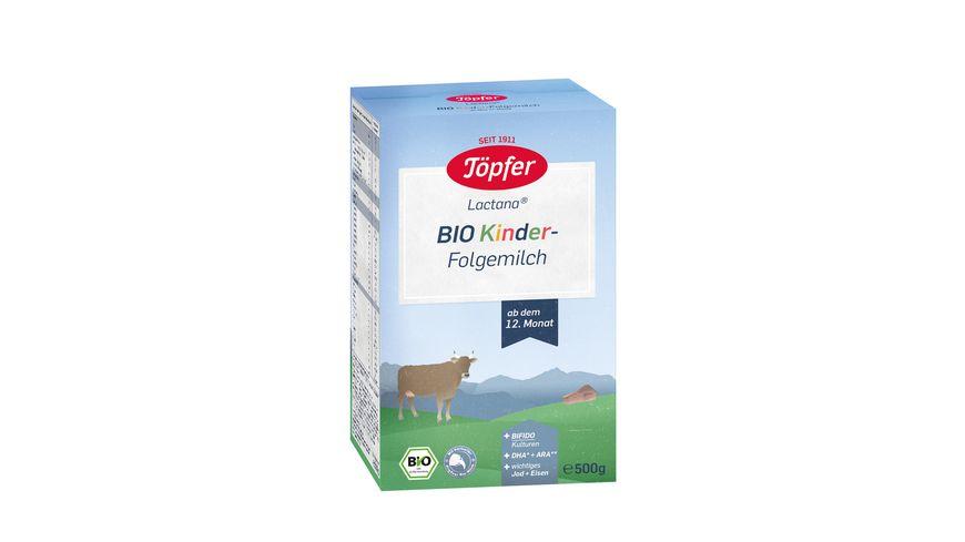 Toepfer Lactana Bio Kindermilch