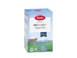 Toepfer Lactana BIO Kinder Folgemilch ab dem 12 Monat