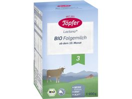 Toepfer Lactana Bio Folgemilch 3