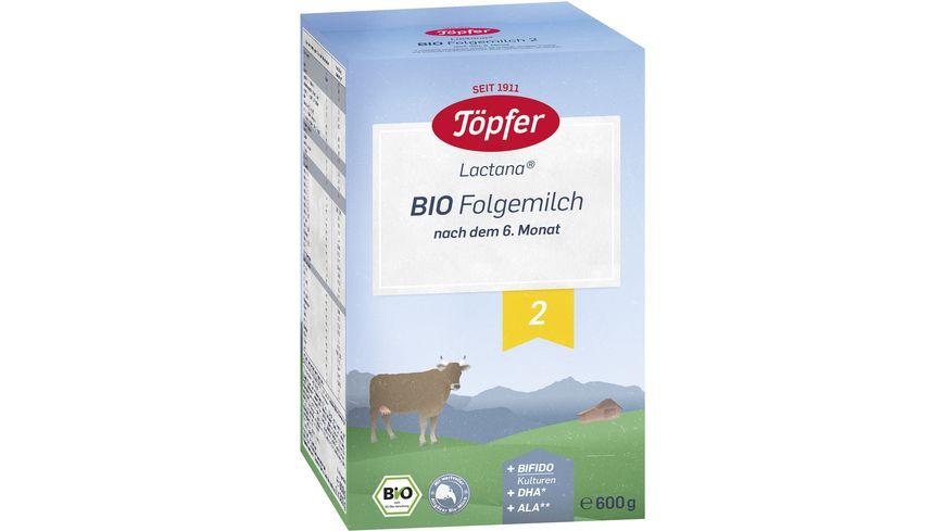 Toepfer Lactana Bio Folgemilch 2