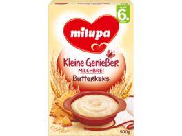 Milupa Kleine Geniesser Milchbrei Butterkeks 6M