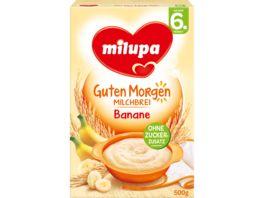 Milupa Guten Morgen Milchbrei Banane 6M