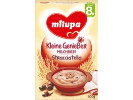 Milupa Kleine Geniesser Milchbrei Stracciatella 8M