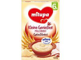 Milupa Kleine Geniesser Milchbrei Griessbrei 6M