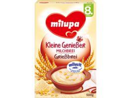 Milupa Kleine Geniesser Milchbrei Griessbrei 8M