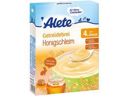 Alete Getreidebrei Honigschleim