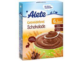 Alete Getreidebrei Schokolade