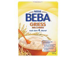 Nestle BEBA Griess Milchbrei