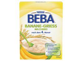 Nestle BEBA Banane Griess Milchbrei 250g