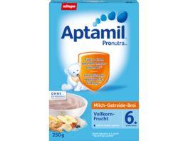 Aptamil Milch Getreide Brei Pronutra Vollkorn Frucht 6M