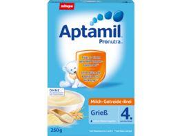 Aptamil Milch Getreide Brei Pronutra Griess 4M