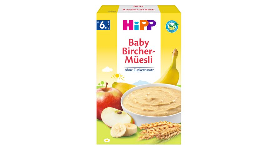 HiPP Bio Mueesli Baby Bircher Muesli