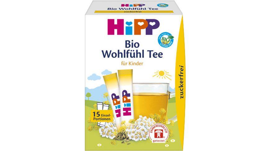 HiPP Bio Teegetränke Erster Wohlfühl-Tee (zuckerfrei) 5,4g, 15 Einzelportionen à 0,36 g