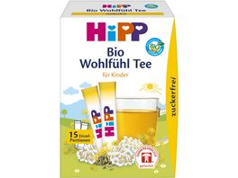 HiPP Teegetraenk Erster Wohlfuehl Tee zuckerfrei