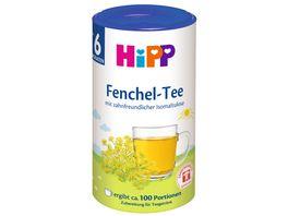 HiPP Teegetraenk Fenchel Tee zahnfreundlich