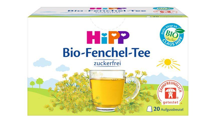 HiPP Teegetränke Bio-Tee im Aufgussbeutel: HiPP Bio-Fenchel-Tee 20 x 1,5g, Gesamtinhalt 30g
