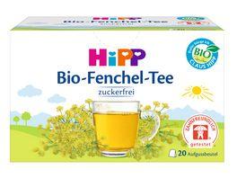 HiPP Teegetraenk Bio Fenchel Tee Beutel