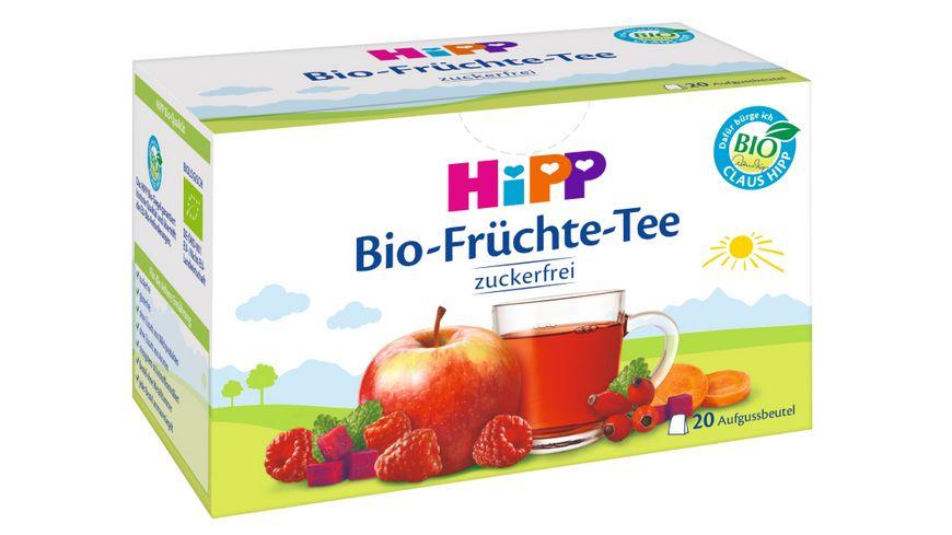 HiPP Teegetraenk Bio Fruechte Tee Beutel