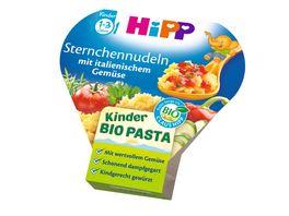 HiPP Beikost Sternchennudeln mit italienischem Gemuese