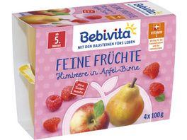 Bebivita Beikost Feine Fruechte Himbeere in Apfel Birne