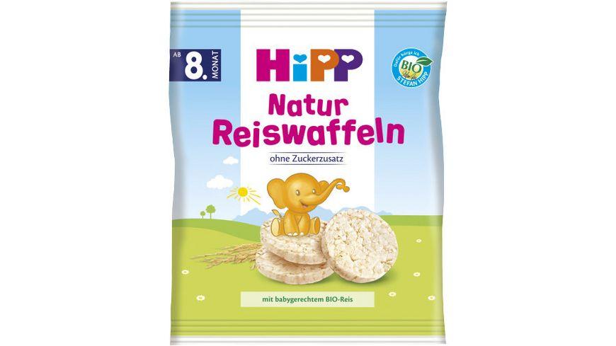 HiPP Knabberprodukte Natur Reiswaffeln