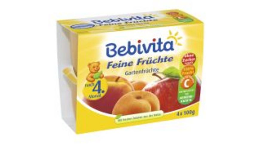 Bebivita Feine Fruechte Gartenfruechte
