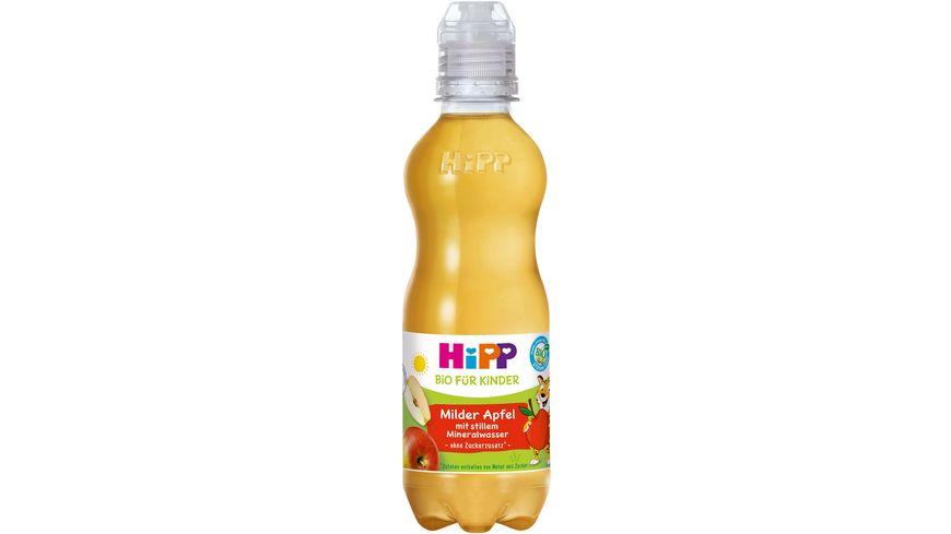 HiPP Kinder Getraenk mit stillem Mineralwasser Purer Apfel mit stillem Mineralwasser