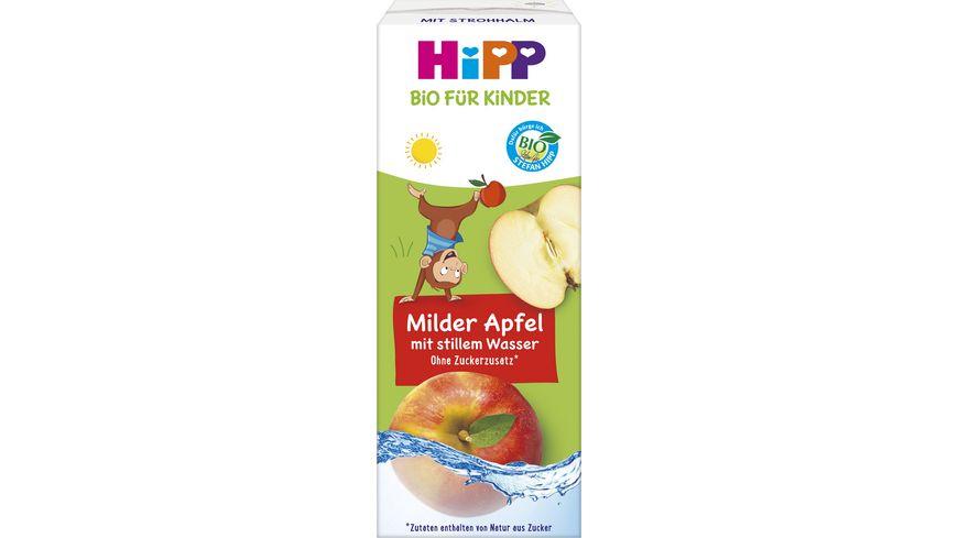 HiPP Kinder Getraenk mit Trinkhalm Tetrapak
