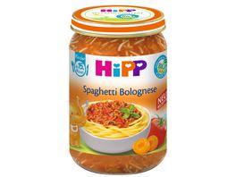 HiPP Menues ab 15 Monat Spaghetti Bolognese
