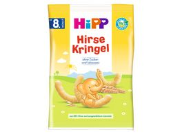 HiPP Knabberprodukte Kinder Hirsekringel 30g ab dem 8 Monat