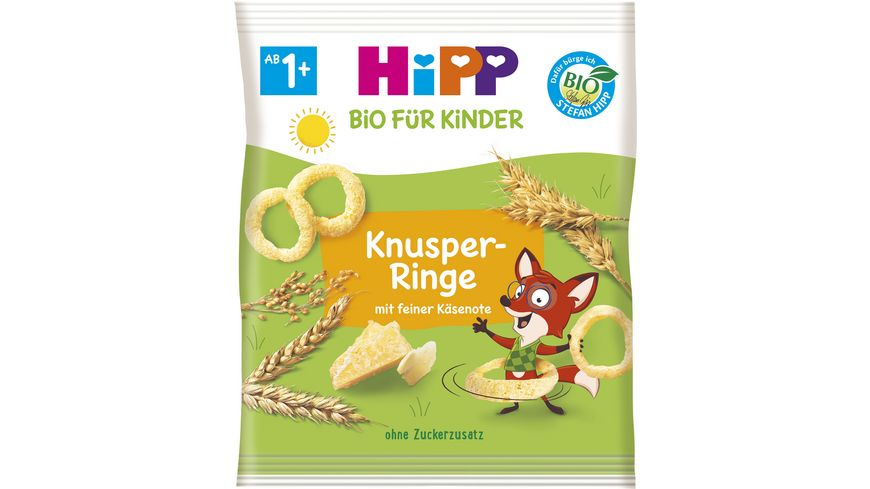 HiPP Knabberprodukte Knusper Ringe