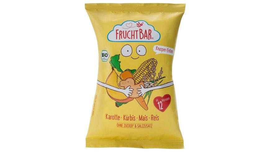 FRUCHTBAR Bio Knusper Enten Karotte Kuerbis Mais Reis