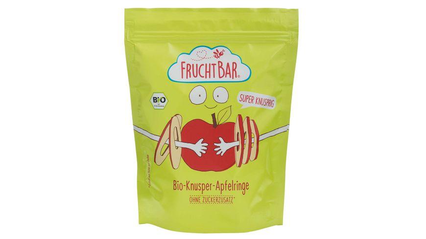 FRUCHTBAR Bio Knusper Apfelringe