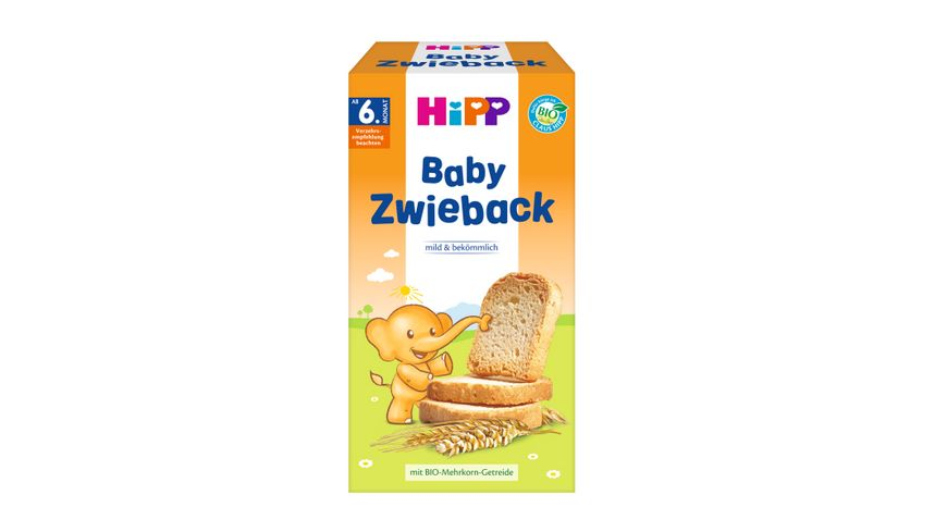 HiPP Knabberprodukte Baby Zwieback